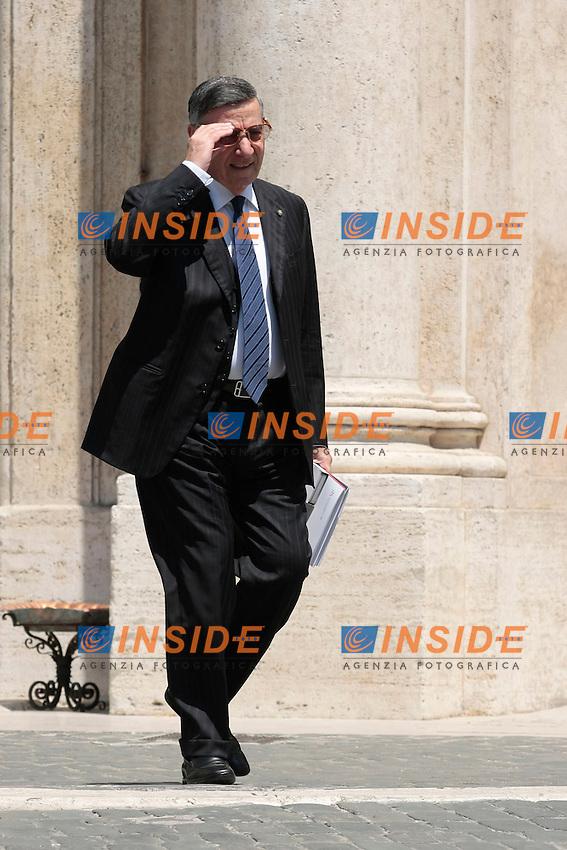 Lamberto Cardia<br /> Roma 18/06/2013 Relazione annuale del Garante della Concorrenza e Mercato, Antitrust.<br /> Photo Samantha Zucchi Insidefoto