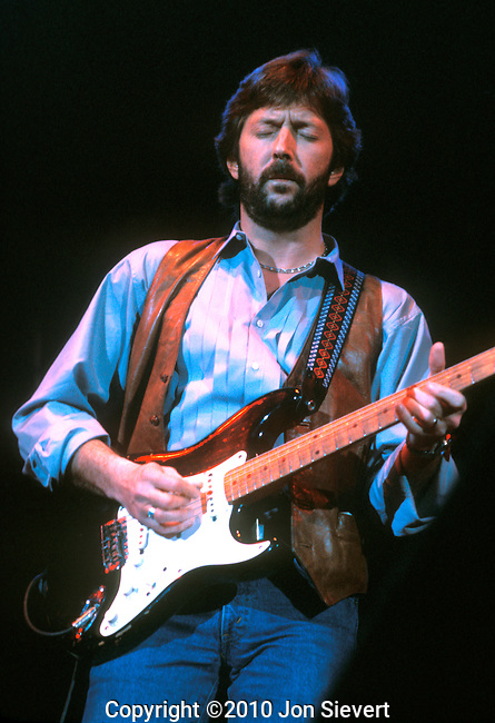 Eric Clapton, Feb 1983, Cow Palace, San Francisco