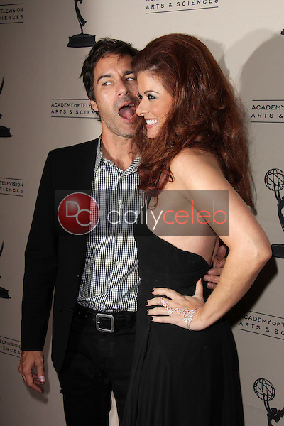 Eric McCormack, Debra Messing<br /> at the Television Academy Presents An Evening Honoring James Burrows, Leonard H. Goldenson Theater, North Hollywood, CA 10-07-13<br /> David Edwards/DailyCeleb.Com 818-249-4998