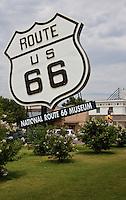 Route 66 Museum in Elk CityOklahoma.