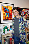 Glen Orbik.Marvel Artworks Party.Every Picture Tells A Story Gallery.Santa Monica, California.29 July 2009.Photo by Nina Prommer/Milestone Photo