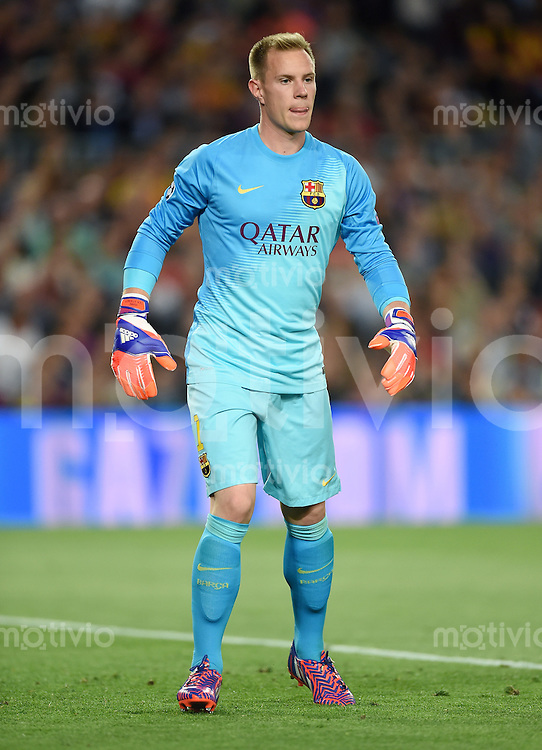 FUSSBALL CHAMPIONS LEAGUE  SAISON 2014/2015 HALBFINAL HINSPIEL FC Barcelona - FC Bayern Muenchen               06.05.2015 Torwart Marc Andre ter Stegen (Barca)