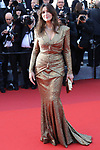 Cannes Film Festival 2017 - Day 7.  Red Carpet for the Anniversary of the  the 70th edition of the 'Festival International du Film de Cannes' on 23/05/2017 in Cannes, France. The film festival runs from 17 to 28 May. Pictured : Monica Bellucci © Pierre Teyssot