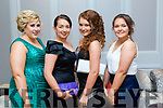 Enjoying the Kerry Fox Hound Hunt Club Galla Dinner at the Rose Hotel on Friday were Caitriona Nagle, Chloe O Connor, Lauren O Connor and Kayla O Connor