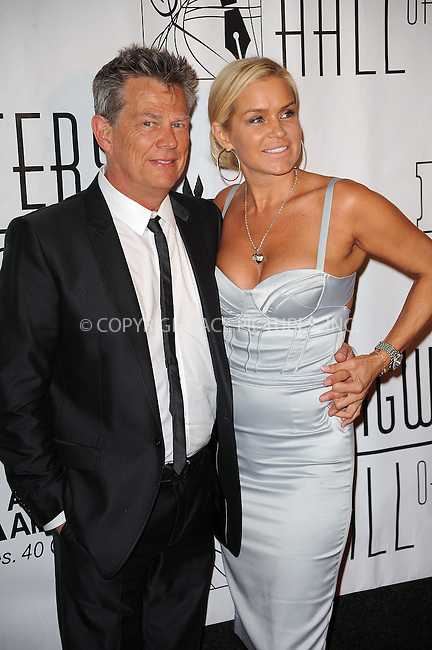 WWW.ACEPIXS.COM . . . . . ....June 17 2010, New York City....David Foster (L) arriving at the 41st Annual Songwriters Hall of Fame Ceremony at The New York Marriott Marquis on June 17, 2010 in New York City.....Please byline: KRISTIN CALLAHAN - ACEPIXS.COM.. . . . . . ..Ace Pictures, Inc:  ..(212) 243-8787 or (646) 679 0430..e-mail: picturedesk@acepixs.com..web: http://www.acepixs.com