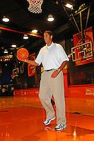 30 September, 2010, Kansas City, Kansas USA.Brad Daugherty, The College Basketball Experience..©2010, F. Peirce Williams, USA.