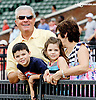 David Malatesta and family at Delaware Park racetrack on 6/26/14