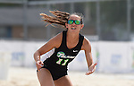 Tulane Sand Volleyball downs UNO at Coconut Beach.