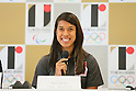 Nicol David, <br /> AUGUST 7, 2015 : <br /> World Squash Federation (WSF) <br /> holds a media conference following its interview <br /> with the Tokyo 2020 Organising Committee in Tokyo Japan. <br /> (Photo by YUTAKA/AFLO SPORT)