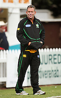 Central Stags coach Dermot Reeve during the State Shield cricket match between the Wellington Firebirds and Central Stags at Allied Prime Basin Reserve, Wellington, New Zealand on Sunday, 11 January 2009. Photo: Dave Lintott / lintottphoto.co.nz