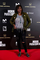 Francine Galvez attends to 'Morir para contar' film premiere during the Madrid Premiere Week at Callao City Lights cinema in Madrid, Spain. November 13, 2018. (ALTERPHOTOS/A. Perez Meca) /NortePhoto.com
