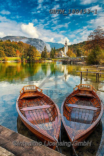Tom Mackie, LANDSCAPES, LANDSCHAFTEN, PAISAJES, photos,+Europa, Europe, European, Lake Bohinj, Slovenia, Tom Mackie, autumn, autumnal, boat, boats, church, churches, destination, de+stinations, dramatic outdoors, fall, mood, moody, portrait, reflect, reflecting, reflection, reflections, scenery, scenic, to+urist attraction, travel, upright, vertical, water, water's edge,Europa, Europe, European, Lake Bohinj, Slovenia, Tom Mackie,+autumn, autumnal, boat, boats, church, churches, destination, destinations, dramatic outdoors, fall, mood, moody, portrait,+,GBTM180453-1,#l#, EVERYDAY