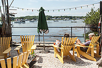 The Ramp Bar & Grill, Cape Porpoise Harbor, Kennebunkport, ME. Images are available for editorial licensing, either directly or through Gallery Stock. Some images are available for commercial licensing. Please contact lisa@lisacorsonphotography.com for more information.