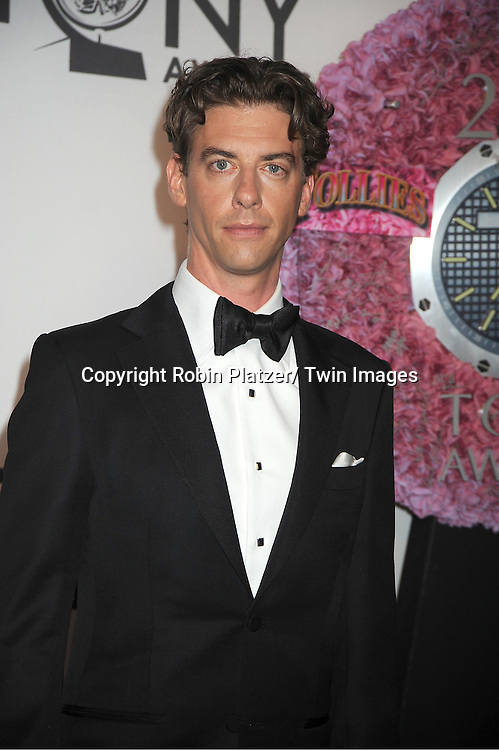 Christian Borle  attends th 66th Annual Tony Awards on June 10, 2012 at The Beacon Theatre in New York City.