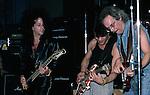 Steve Stevens, Eddie Van Halen , Tim Bogert at NAMM 1987