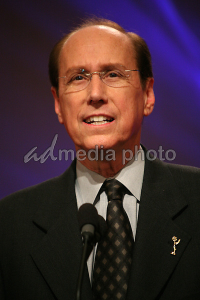 19 July 2007 - North Hollywood, California - Alan Perris, CEO of the Academy of Television Arts & Sciences. 59th Primetime Emmy Awards Nominations Announcements at the Leonard H. Goldenson Theatre. Photo Credit: Byron Purvis/AdMedia