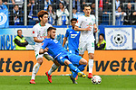 11.05.2019, PreZero Dual Arena, Sinsheim, GER, 1. FBL, TSG 1899 Hoffenheim vs. SV Werder Bremen, <br /> <br /> DFL REGULATIONS PROHIBIT ANY USE OF PHOTOGRAPHS AS IMAGE SEQUENCES AND/OR QUASI-VIDEO.<br /> <br /> im Bild: Yuya Osako (#8, SV Werder Bremen) gegen Ermin Bicakcic (TSG Hoffenheim #4)<br /> <br /> Foto &copy; nordphoto / Fabisch