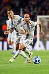 UEFA Champions League 2018/2019 - Matchday 3.<br /> FC Barcelona vs FC Internazionale Milano: 2-0.<br /> Matias Vecino &amp; Borja Valero.