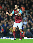 West Ham's Andy Carroll looks on dejected <br /> <br /> Barclays Premier League - West Ham United v Stoke City - Upton Park - England -12th December 2015 - Picture David Klein/Sportimage