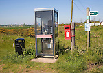 Rural services of the hamlet of Shingle Street, Suffolk, England