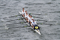Crew: 47  Kings Sch Chester  Event: School 2nd Eights<br /> <br /> Schools' Head of the River 2017<br /> <br /> To purchase this photo, or to see pricing information for Prints and Downloads, click the blue 'Add to Cart' button at the top-right of the page.