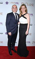 NEW YORK, NY April .18, 2017 Eric Esrailian and Melina Esrailian attend Survival Pictures and Open Road in partnership with Ambassador Zohrab Mnatsakanyan, Permanent Representative of Armenia to the United Nations host a special screening of The Promise  at the Paris Theatre in New York April 19,  2017. <br /> CAP/MPI/RW<br /> &copy;RW/MPI/Capital Pictures