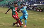 Jaguares venció 2-1 a Boston River. Ida primera fase de la Conmebol Sudamericana 2018.