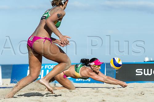29.09.2015-04.10.2015 Fort Lauderdale, Florida, USA. Swatch Beach Volleyball Beach volleyball FIVB World Tour Finals 2015.  Agatha Bednarczuk (BRA)