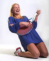 NWA Democrat-Gazette/ANDY SHUPE<br /> Brooke Killingsworth of Bentonville is the Northwest Arkansas Democrat-Gazette girls singles player of the year. Thursday, Nov. 10, 2016.