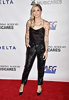 LOS ANGELES, CA - FEBRUARY 08: Christina Perri attends MusiCares Person of the Year honoring Dolly Parton at Los Angeles Convention Center on February 8, 2019 in Los Angeles, California.<br /> CAP/ROT/TM<br /> &copy;TM/ROT/Capital Pictures