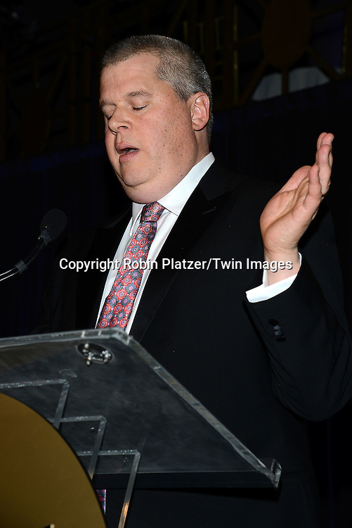 Daniel Handler, hosting  the 65th Annual National Book Awards on November 19, 2014 at Cipriani Wall Street in New York City. <br /> <br /> photo by Robin Platzer/Twin Images<br />  <br /> phone number 212-935-0770