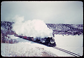 D&amp;RGW #487 &amp; #492 hustling a freight.<br /> D&amp;RGW
