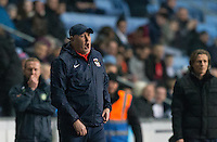 Coventry City Manager Russell Slade during the The Checkatrade Trophy - EFL Trophy Semi Final match between Coventry City and Wycombe Wanderers at the Ricoh Arena, Coventry, England on 7 February 2017. Photo by Andy Rowland.