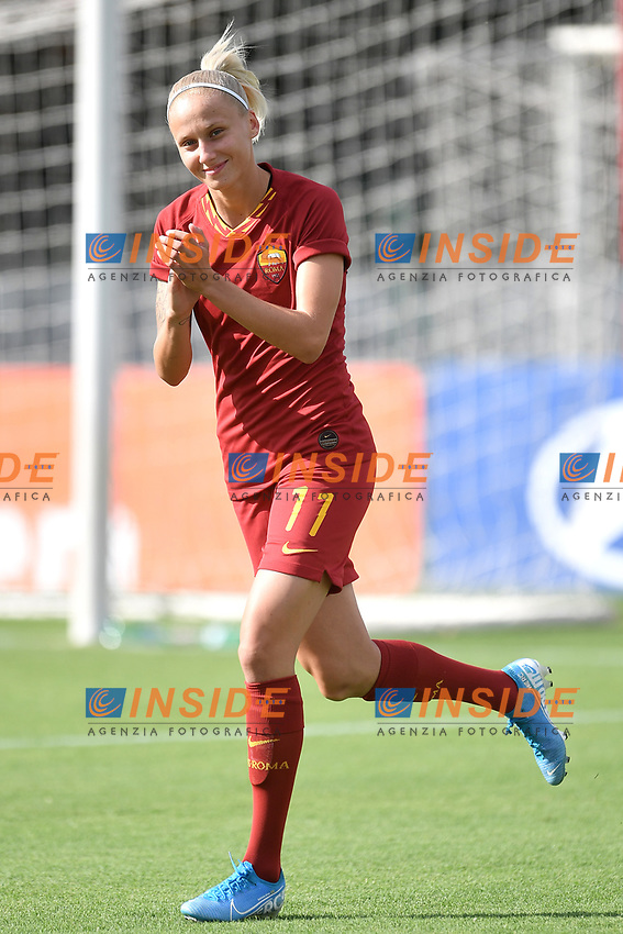 Kaja Erzen of AS Roma  <br /> Roma 8/9/2019 Stadio Tre Fontane <br /> Luisa Petrucci Trophy 2019<br /> AS Roma - Paris Saint Germain<br /> Photo Andrea Staccioli / Insidefoto