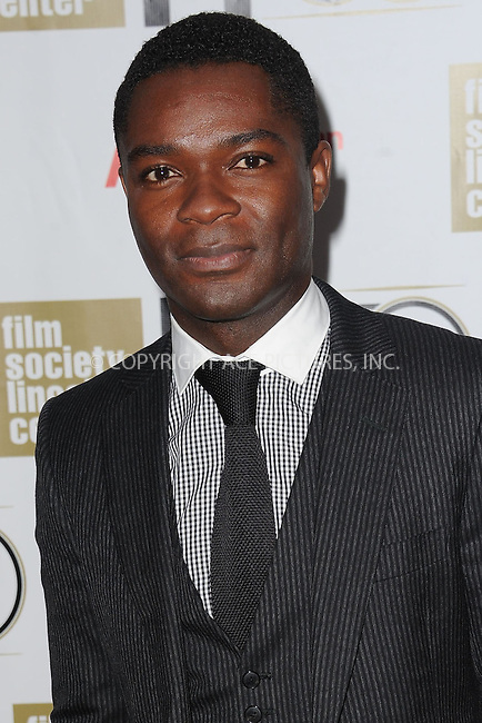 WWW.ACEPIXS.COM . . . . . .October 3, 2012...New York City....David Oyelowo attends The Film Society of Lincoln Center Gala Tribute to Nicole Kidman as part of The New York Film Festival at Alice Tully Hall on October 3, 2012 in New York City ....Please byline: KRISTIN CALLAHAN - ACEPIXS.COM.. . . . . . ..Ace Pictures, Inc: ..tel: (212) 243 8787 or (646) 769 0430..e-mail: info@acepixs.com..web: http://www.acepixs.com .