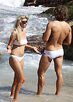 20 JANUARY 2016 MELBOURNE AUSTRALIA<br /> <br /> NON EXCLUSIVE <br /> <br /> Mario Testino photoshoot at locations around Bondi Beach for Vogue Magazine. Lara Stone Poses For Mario Testino At Tamarama.<br /> <br /> *All web use must be approved*.<br /> <br /> MUST CALL PRIOR TO USE <br /> <br /> +61 2 9211-1088<br /> <br /> Note: All editorial images subject to the following: For editorial use only. Additional clearance required for commercial, wireless, internet or promotional use.Images may not be altered or modified. Matrix Media Group makes no representations or warranties regarding names, trademarks or logos appearing in the images.