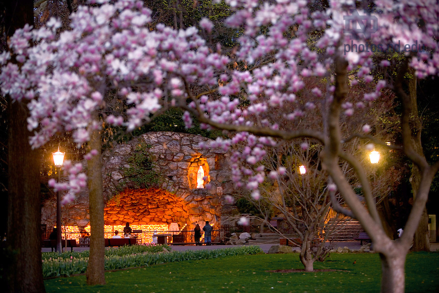 Grotto in spring.<br /> <br /> Photo by Matt Cashore
