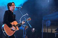 Sábado 19, Enero 2013. Las bandas de rock Fobia & Kinky dan concierto en la Plaza de Toros Santa María de Querétaro. <br /> (GerardoFlores/SIETEFOTO/NortePhoto)