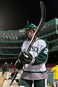 Ryan McDougall (Babson - 2) - The UMass Boston Beacons defeated the Babson College Beavers 5-1 on Thursday, January 12, 2017, at Fenway Park in Boston, Massachusetts.