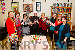 On Friday evening in The Oyster Tavern The Spa,Tralee Ardfert NS launched the Taste of Christmas a cookery demonstration which will be on in Ballyroe Heights Hotel,Tralee on the 10th November 2015 with chef Darren Thibeaud, Antoinette Wiseman,Mary O'Connor,Joan Holland,Betty Stack,maggie Kearney,Cecelia O'Callaghan and Kristi Nowak.