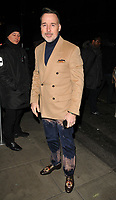 David Furnish at the LFW (Men's) a/w2018 GQ Dinner, Berners Tavern, The London Edition Hotel, Berners Street, London, England, UK, on Monday 08 January 2018.<br /> CAP/CAN<br /> &copy;CAN/Capital Pictures