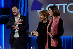 Laura Boldrini e Matteo Salvini a Otto e Mezzo