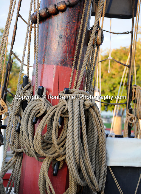"""Tall ship ropes Annapolis Maryland United States, Annapolis Maryland, Annapolis is the capital of Maryland, United States Naval Academy USNA, The Boat School, Canoe U, United States, Maryland, Mid Atlantic region, Seventh state to ratify the United States Constitution, Old Line State, Free State, Johns Hopkins University, Little America, State of Maryland United States of America, Baltimore, Oak forest, Piedmont Region, Pine groves in the mountains to the west, Chesapeake Bay, Severn River, temporary capital of the United States in 1783-1784, Annapolis Peace Conference, Province of Maryland, """"Town at Proctor's,"""" Fine Art Photography by Ron Bennett, Fine Art, Fine Art photography, Art Photography, Copyright RonBennettPhotography.com ©"""