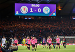 Scotland celebrate victory at full time