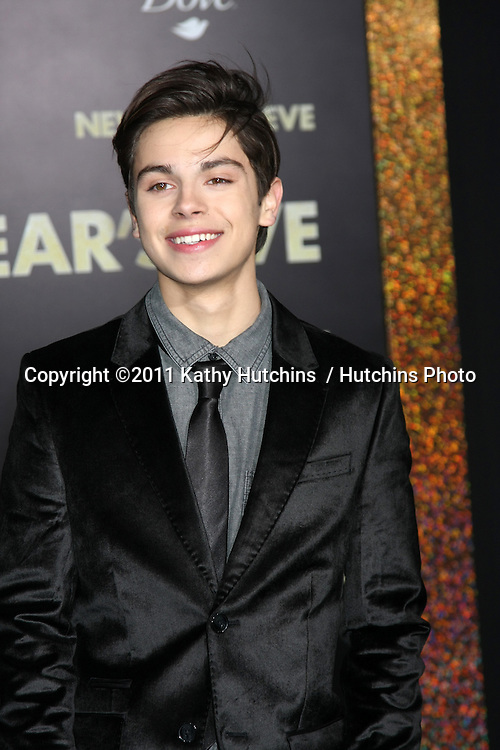 "LOS ANGELES - DEC 5:  Jake T. Austin arrives at the ""New Year's Eve"" World Premiere at Graumans Chinese Theater on December 5, 2011 in Los Angeles, CA"