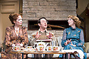 Absent Friends by Alan Ayckbourn, directed by Jeremy Herrin. With Katherine Parkinson as Diana,  Reece Shearsmith as Colin, Elizabeth Berrington as Marge. Opens at The Harold Pinter Theatre   on 9/2/12 . CREDIT Geraint Lewis