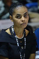 RIO DE JANEIRO-21/06/2012-marina Silva no evento Rio20, no Rio Centro, zona oeste do Rio.Foto:Marcelo Fonseca-Brazil Photo Press