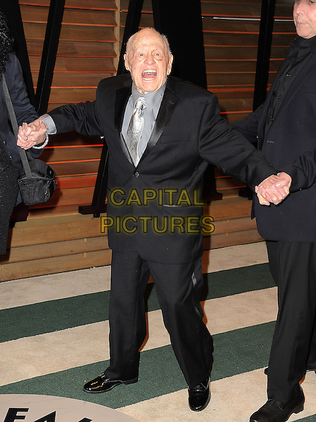 WEST HOLLYWOOD, CA - MARCH 2: Mickey Rooney arrives at the 2014 Vanity Fair Oscar Party in West Hollywood, California on March 2, 2014.  <br /> CAP/MPI/MPI213<br /> &copy;MPI213/MediaPunch/Capital Pictures