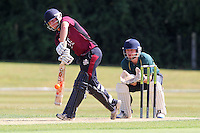 Chelmsford CC (green) vs Brentwood CC - Final - Essex Cricket League Dukes T20 Finals Day at Billericay Cricket Club - 28/07/13 - MANDATORY CREDIT: Gavin Ellis/TGSPHOTO - Self billing applies where appropriate - 0845 094 6026 - contact@tgsphoto.co.uk - NO UNPAID USE