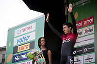 3rd finisher Egan Bernal (COL/Ineos) on the podium<br /> <br /> 113th Il Lombardia 2019 (1.UWT)<br /> 1 day race from Bergamo to Como (ITA/243km)<br /> <br /> ©kramon